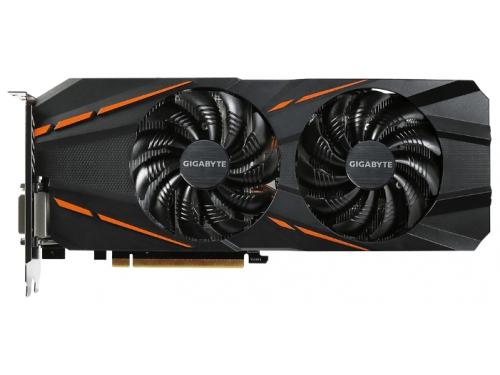 Видеокарта GeForce Gigabyte PCI-E NV GTX 1060 3Gb 192b DDR5 D-DVI+HDMI GV-N1060G1 GAMING-3GD, вид 2