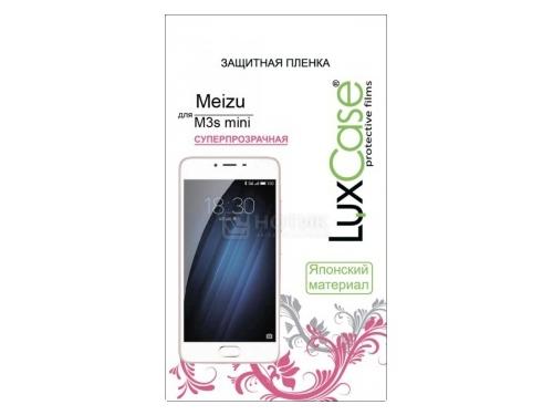 Защитная пленка для смартфона LuxCase для Meizu M3s mini, суперпрозрачная, вид 1