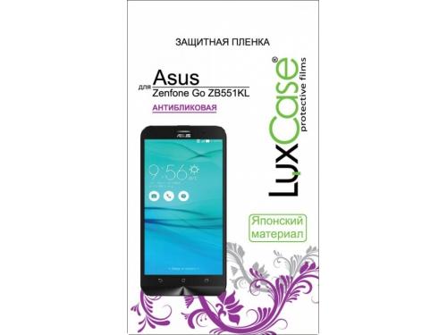 Защитная пленка для смартфона LuxCase для Asus Zenfone Go TV G550KL (Антибликовая), вид 1
