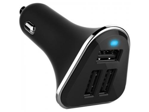 Зарядное устройство Wiiix, UCC-3-2, 2.1A+2A+1A, черное, вид 1