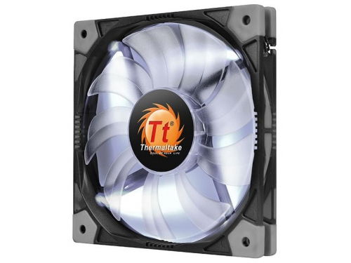 Кулер Thermaltake Luna 14 Slim LED, белый, вид 1