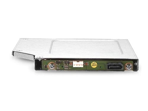 Корпус для жесткого диска корзина Chenbro SK51102T2, для HDD/SSD (1x 2.5'', Hot swap, HDD - SlimDVD, SATA3), для ноутбука, вид 3