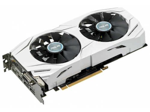 Видеокарта GeForce ASUS GeForce GTX 1060 1569Mhz PCI-E 3.0 6144Mb 8008Mhz 192 bit DVI 2xHDMI HDCP, вид 1