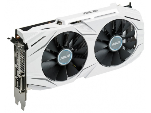 Видеокарта GeForce ASUS GeForce GTX 1060 1569Mhz PCI-E 3.0 6144Mb 8008Mhz 192 bit DVI 2xHDMI HDCP, вид 3