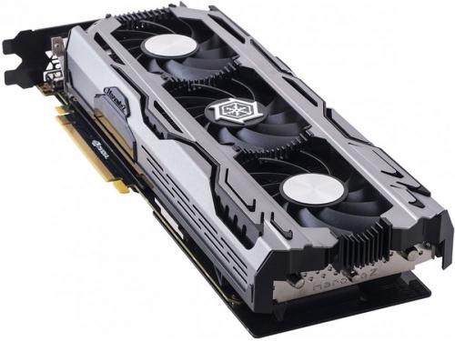 Видеокарта GeForce Inno3D GeForce GTX 1060 1569Mhz PCI-E 3.0 6144Mb 8200Mhz 192 bit DVI HDMI HDCP iChill, вид 1