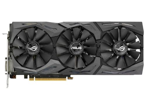 Видеокарта GeForce ASUS PCI-E NV STRIX-GTX1080-A8G-GAMING GTX1080 8192Mb 256b DDR5X, вид 1