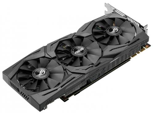 Видеокарта GeForce ASUS PCI-E NV STRIX-GTX1080-A8G-GAMING GTX1080 8192Mb 256b DDR5X, вид 2