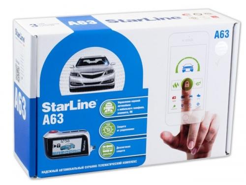 ���������������� StarLine A63, ��� 1