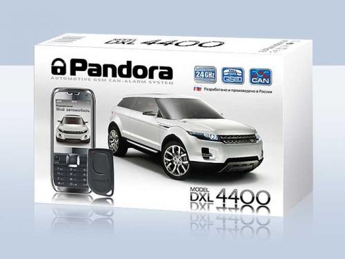Автосигнализация Pandora DXL 4400 АВТО GSM, вид 1