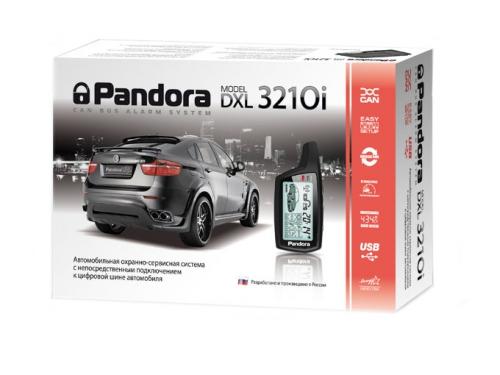 Автосигнализация Pandora DXL 3210i CAN, вид 1