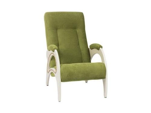 Кресло мягкое Мебель Импэкс Модель 41 дуб шампань каркас дуб шампань, обивка Verona Apple Green, вид 1