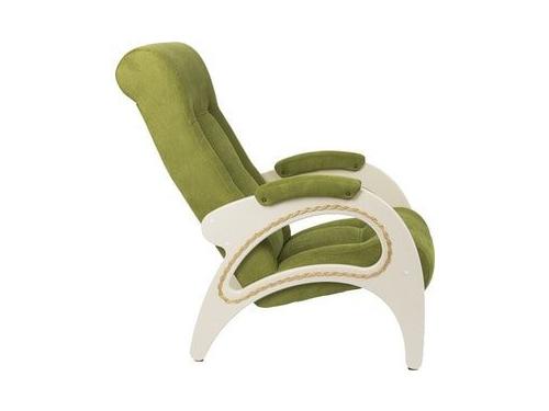 Кресло мягкое Мебель Импэкс Модель 41 дуб шампань каркас дуб шампань, обивка Verona Apple Green, вид 2