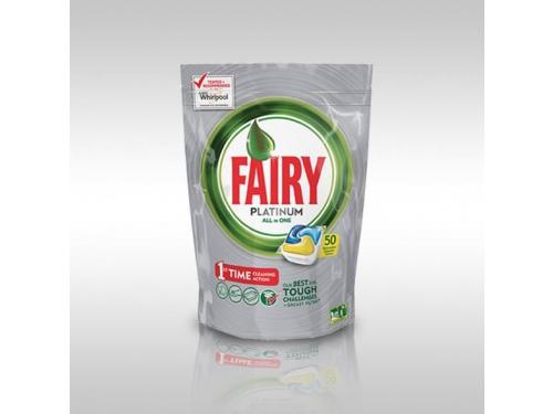 Средство для мытья детской посуды Fairy Platinum, Лимон  (50шт), вид 1