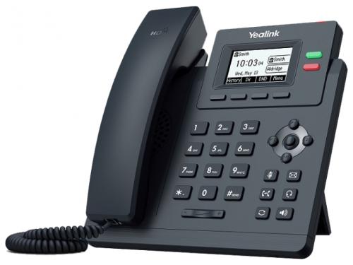 IP-телефон Yealink SIP-T31 черный, вид 1