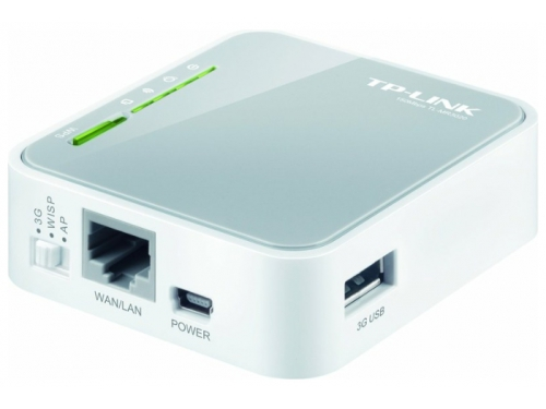 Роутер WiFi TP-LINK TL-MR3020, вид 3