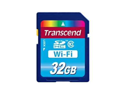 Карта памяти Transcend Wi-Fi SD Card 32 Gb, вид 1