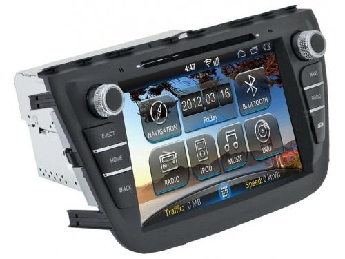 ������� �������� ���������� Incar AHR-0780SX ��� Suzuki SX4 13+, ��� 2
