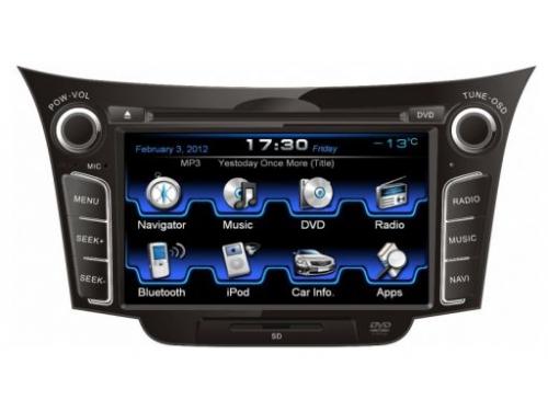 ������� �������� ���������� Incar  CHR-2495 ��� Hyundai i30, ��� 1