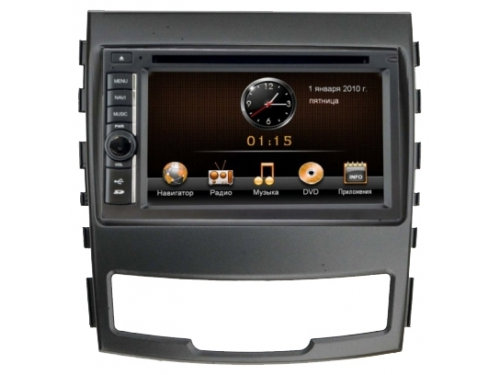 ������� �������� ���������� Incar CHR-7733SY ��� SsangYong Actyon 2011-13, ��� 1