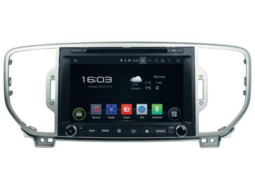 ������� �������� ���������� Incar AHR-1885 Android 4.4.4/1024*600,wi-fi KIA Sportage 16+, ��� 1