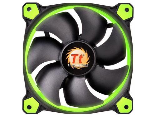 Кулер Thermaltake Riing 12 LED+LNC (120mm), зеленый, вид 2
