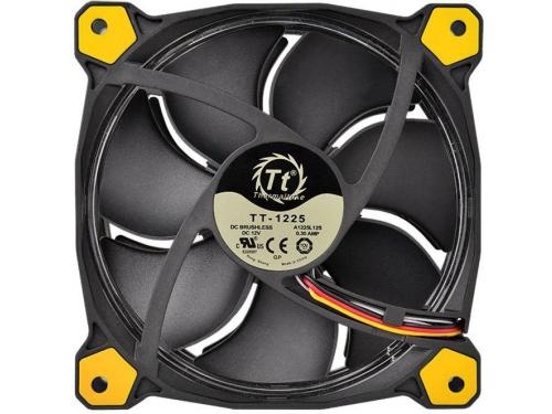 Кулер Thermaltake Riing 12 LED+LNC (120mm), желтый, вид 3