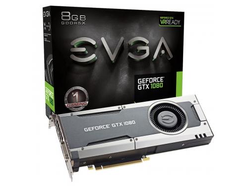 Видеокарта GeForce EVGA GeForce GTX 1080 GAMING 8192Mb 256b (08G-P4-5180-KR) , вид 5