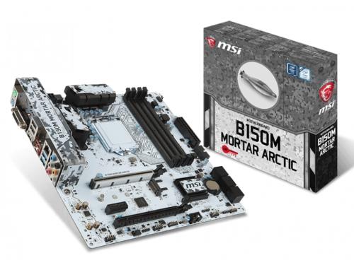 ����������� ����� MSI B150M Mortar Arctic (mATX, LGA1151, Intel B150, 4xDDR4), ��� 1