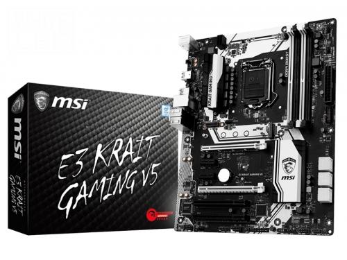 ����������� ����� MSI E3 KRAIT Gaming V5 (ATX, LGA1151, Intel C232, 4xDDR4), ��� 5