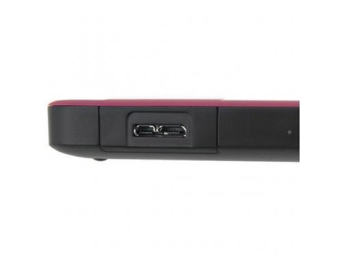 Жесткий диск Western Digital WDBNFV0030BBY-EEUE (3 Тб, 2.5'', внешний, USB3.0), бордовый, вид 4