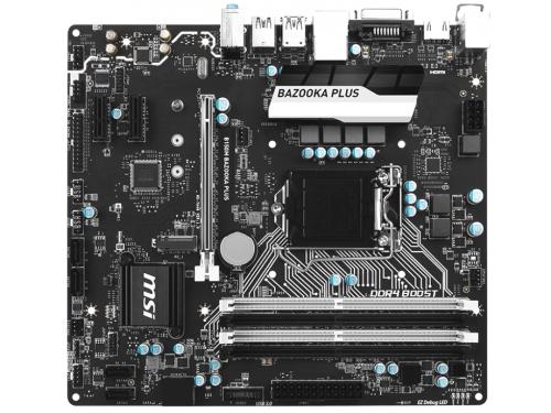 Материнская плата MSI B150M Bazooka Plus (mATX, LGA1151, Intel B150, 4xDDR4), вид 1