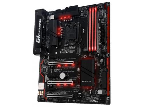 Материнская плата GIGABYTE GA-Z170X-Ultra Gaming (rev. 1.0) (ATX, LGA1151, Intel Z170, 4xDDR4), вид 2
