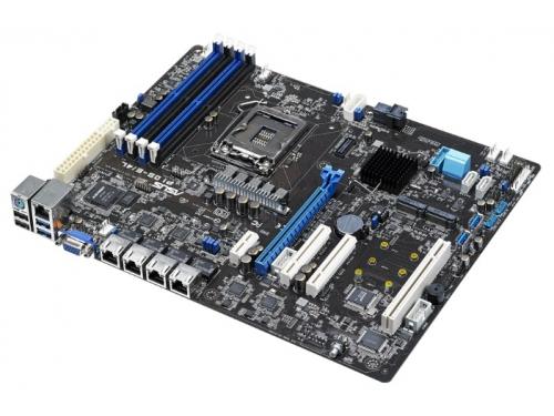 Материнская плата ASUS P10S-E/4L (ATX, LGA1151, Intal C236, 4xDDR4), для сервера, вид 2