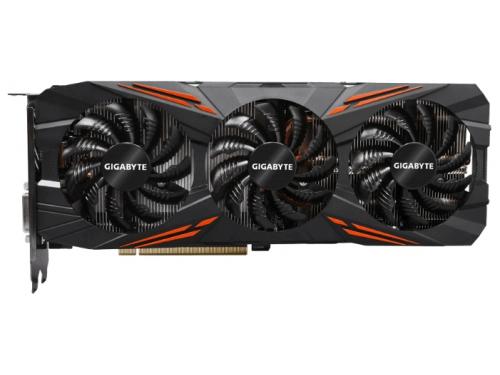 Видеокарта GeForce Gigabyte PCI-E NV GTX 1080 8192Mb 256b DDR5X (GV-N1080G1 GAMING-8GD), вид 1