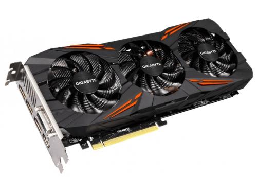 Видеокарта GeForce Gigabyte PCI-E NV GTX 1080 8192Mb 256b DDR5X (GV-N1080G1 GAMING-8GD), вид 2