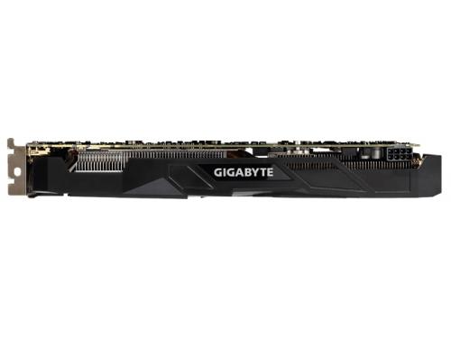 Видеокарта GeForce GIGABYTE PCI-E NV GTX1070 8192Mb 256b DDR5 D-DVI+HDMI GV-N1070WF2OC-8GD, вид 3