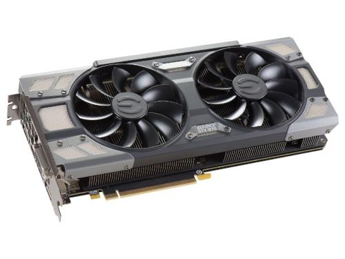 Видеокарта GeForce EVGA PCI-E NV GTX1070 FTW GAMING ACX 3.0 8192Mb 256b DDR5 D-DVI+HDMI 08G-P4-6276-KR, вид 2