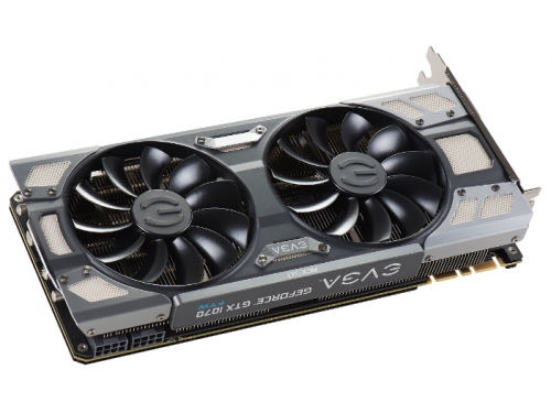 Видеокарта GeForce EVGA PCI-E NV GTX1070 FTW GAMING ACX 3.0 8192Mb 256b DDR5 D-DVI+HDMI 08G-P4-6276-KR, вид 3