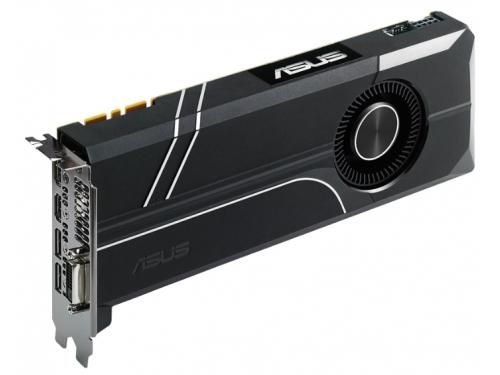 Видеокарта GeForce ASUS PCI-E NV GTX1070 8192Mb 256b DDR5 D-DVI+HDMI TURBO-GTX1070-8G, вид 3