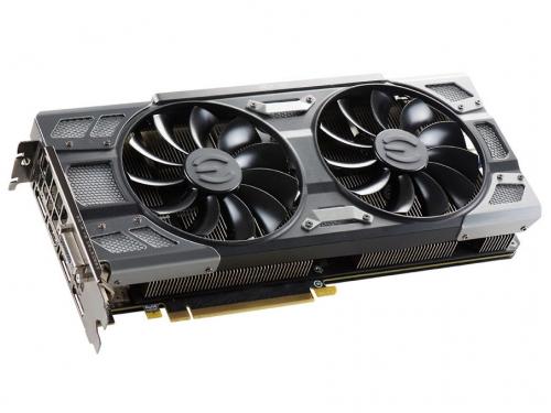 Видеокарта GeForce EVGA GeForce GTX 1080 1721Mhz PCI-E 3.0 8192Mb 10000Mhz 256 bit DVI HDMI HDCP (08G-P4-6286-KR), вид 1