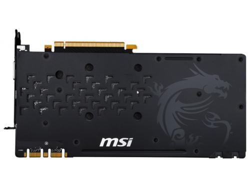 Видеокарта GeForce MSI GeForce GTX 1080 1708Mhz PCI-E 3.0 8192Mb 10108Mhz 256 bit DVI HDMI HDCP (GTX 1080 GAMING X 8G), вид 3