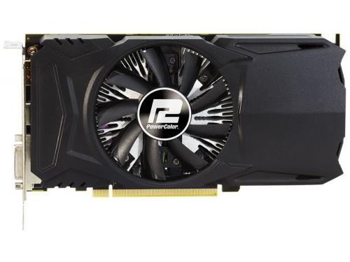 Видеокарта Radeon PowerColor Radeon RX 460 1090MHz PCI-E 3.0 2048Mb 7000MHz 128 bit DVI HDMI HDCP (AXRX 460 2GBD5-DH/OC), вид 1