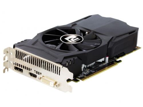 Видеокарта Radeon PowerColor Radeon RX 460 1090MHz PCI-E 3.0 2048Mb 7000MHz 128 bit DVI HDMI HDCP (AXRX 460 2GBD5-DH/OC), вид 2