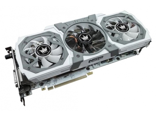 ���������� GeForce KFA2 GeForce GTX 980 1266Mhz PCI-E 3.0 4096Mb 7010Mhz 256 bit DVI HDMI HDCP, 118536, HOF V2, ��� 1