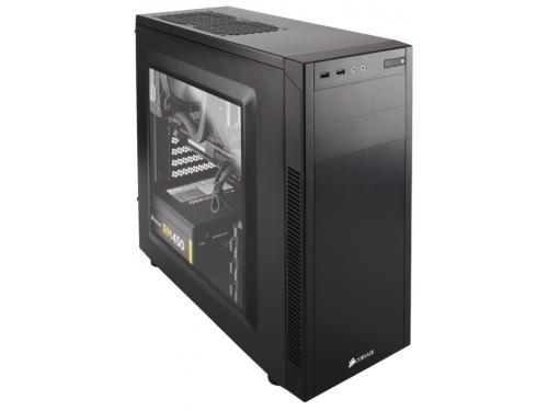 Корпус Corsair Carbide Series 100R (CC-9011075-WW) Black без б.п., вид 2