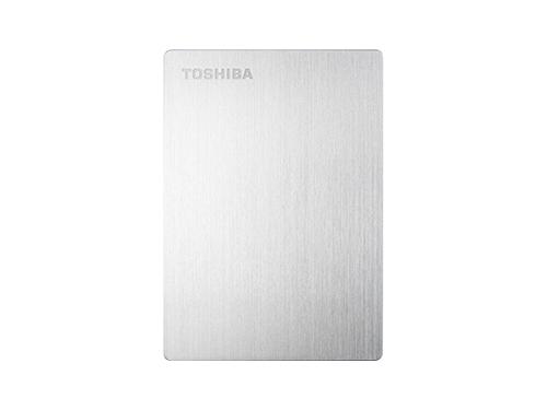 Жесткий диск Toshiba STOR.E SLIM 1TB, серебристый, вид 1