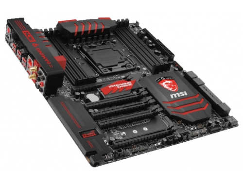 Материнская плата MSI X99A GAMING 9 ACK (EATX, LGA2011-3, Intel X99, 8x DDR4), вид 2