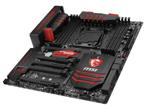 Материнская плата MSI X99A GAMING 9 ACK (EATX, LGA2011-3, Intel X99, 8x DDR4), вид 3