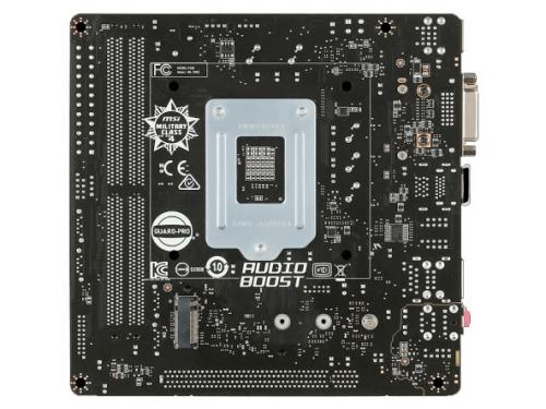 ����������� ����� MSI H170I PRO AC (mini-ITX, LGA1151, Intel H170, 2xDDR4), ��� 2