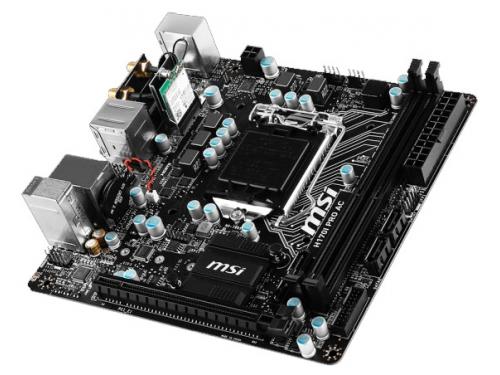 ����������� ����� MSI H170I PRO AC (mini-ITX, LGA1151, Intel H170, 2xDDR4), ��� 3